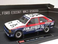 Ford Escort MkIii Rs1600i #74 Richard Belcher 1985 Sun Star Model 1/18 4965