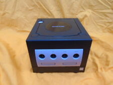 gamecube CONSOLE *PAL* VERSION BLACK Working Replacement Only - Nintendo