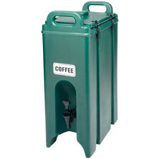 Cambro 500Lcd Camtainer, Insulated Beverage Server, 4-3/4 Gal. Color Dark Brown