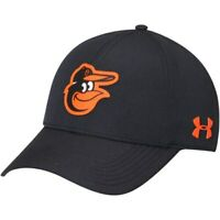 Baltimore Orioles Under Armour MLB Driver Cap 2.0 Adjustable Hat - Black