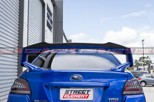 RWN Style Gurney Flap For 2015-2020 Subaru WRX/STI Trunk Spoiler (GLOSS BLACK)