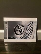 Toyota 2009 model line brochure Moving Forward