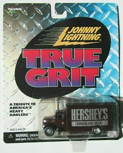 JOHNNY LIGHTNING HERSHEY'S CHOCOLATE MILK DELIVERY TRUCK Rubber Tires