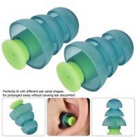 Bouchons d'oreille protecteurs auditifs Réduction du bruit en silicone