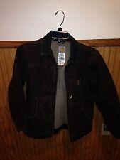 Carhartt Youth Xl Work Jacket Dark Brown