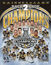 Pittsburgh Penguins 2017 Stanley Cup Champions 8x10 Team Composite Photo