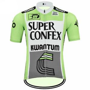 Super Confex Kwantum Yoko cycling Short Sleeve Jersey Cycling Jersey