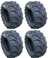 Four 4 Deestone Swamp Witch ATV Tires Set 2 Front 25x8-12 & 2 Rear 25x10-12 D932
