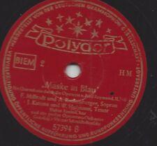 Anneliese Rothenberger mit J. Katona und F. Miliradt 1950 : Maske in Blau