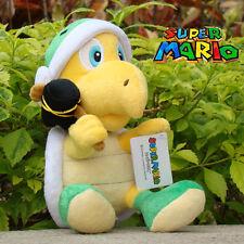 "Hammer Bros Koopa 8"" Super Mario Bros Plush Toy Nintendo Game Soft Stuffed Doll"