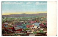 Early 1900s View of North Adams, MA Postcard