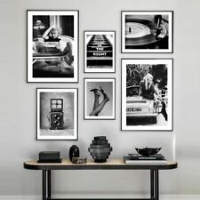 Vintage Camera  Black White Canvas Painting Poster And Print Modern Pictures