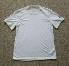 Patagonia Men's Capilene Flying Fish Short Sleeve Shirt Size Large L Color White