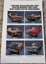 1971 AMC Lineup car ad