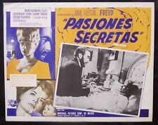 "JOHN HUSTON ""FREUD"" SUSANNAH YORK MONTGOMERY CLIFT 61 MEXICAN NMINT LOBBY CARD"
