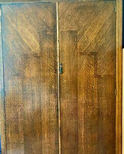 Art Deco 1020's / 1930's wardrobe /armoire. Office cupboard