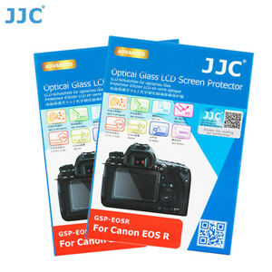 JJC 2PCS 0.3mm Optical Tempered Glass Screen Protector for CANON EOS R Ra Camera