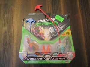 New JAKKS Power Rippers Series 1 Double Pack Power Claw vs Liquid Metal RARE