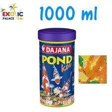 DAJANA POND KOI 1000ml MANGIME IN FIOCCHI PER CARPE DOLCE LAGHETTO PESCI FLAKES