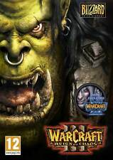 "JEU PC - WARCRAFT 3 III : REIGN OF CHAOS GOLD + THE FROZEN THRONE ""NEUF"" JPC4347"