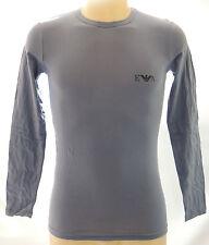 T-shirt maglia uomo sweater EMPORIO ARMANI a.111023 3A515 T.XL c.01342 lead grey