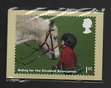 GB 2014 WORKING HORSES PHQ STAMP CARDS MINT