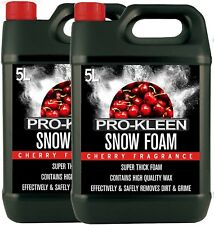 SNOW FOAM CAR WASH SHAMPOO WAX CLEANING LANCE CLEAN GUN KARCHER PRO-KLEEN 10L