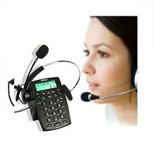 Smart AGPtek Call Center Dialpad Headset Telephone w/ Tone Dial Key Pad & REDIAL