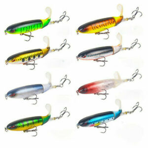 Popper Fishing Lures Swimbait Artificial Hard Bait Topwater Lure Fishing Tackles