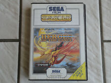 Heroes of the lance dungeons & dragons sega master system complet PAL
