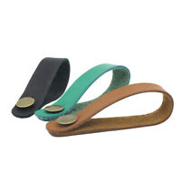 Acoustic Guitar Neck Strap Button Headstock Adaptor Synthetic Leather with  P9A1