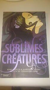 Saga 16 Lunes T01 - Sublimes Créatures - Garcia/Stohl/Jean - Black Moon Graphics