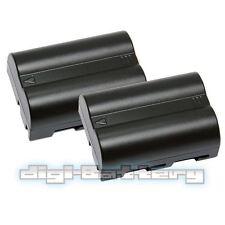 2x MaximalPower™ BATTERY FOR NIKON EN-EL3 EN-EL3A 1300mAh D50 D70 D100 D70