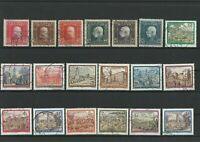 Wertvolles Lot Österreich Briefmarken 19 Werte ab 1900 gestempelt