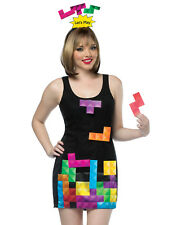 Tetris Dress Interactive Pieces Dress Retro Nintendo Arcade