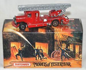 Matchbox Model of Yesteryear 1932 Mercedes-Benz Ladder Truck Fire Engine series