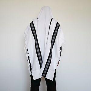 Tallit Talis Prayer Shawl 100% WOOL size: 140*180CM weight:600g