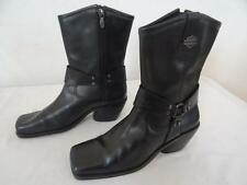 HARLEY DAVIDSON 84964 'Kimberley' MOTO botas negras Us 7 / UK 5/EU 38 052 r