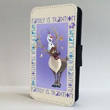 Frozen Olaf Sven Reindeer Disney FLIP PHONE CASE COVER for IPHONE SAMSUNG