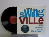 "Rex Stewart,Prestige Swingville,""The Happy Jazz of Rex Stewart""US,LP,mono,RVG,M"