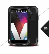 Love Mei Powerful Gorilla Glass Metal Shockproof Armor Cover Case For LG V20