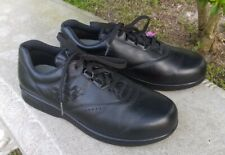 SAS Freetime Black Leather Lace Up Oxfords Comfort Shoes Womens Size 9 W
