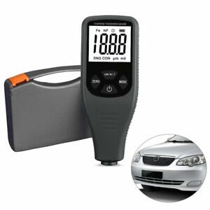 Coating Thickness Gauge Digital Car Paint Meter Portable Tester Auto F/NF Probes