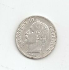 France Silver 1865BB 50 Centimes-Lot C13