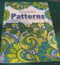 NEW Martello Adult Colouring Books Pattern Relaxation Anti Stress Relief Art