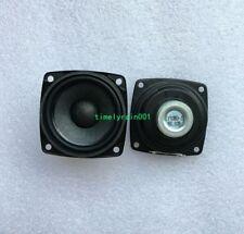 2pcs 57MM 8Ohm 8Ω 10W Full-range speaker Loudspeaker Neodymium Rubber edge Audio