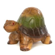 More details for turtle fair trade carved wooden high back wooden turtle - 7 inch - tur-002-m
