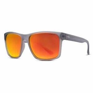 Liive Vision Sunglasses - Kerrbox Mirror Polarized - Matt Xtal Smoke - Live Sung