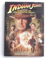 Indiana Jones and the Kingdom of The Crystal Skull DVD 2008 movie Harrison Ford