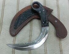 "Custom made Beautiful Real Steel ""RAID II Silat"" Karambit knife"
